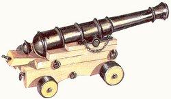 Пушка на лафете