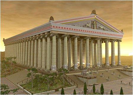 Четвертое чудо света Храм Артемиды в Эфесе Храм Артемиды в Эфесе