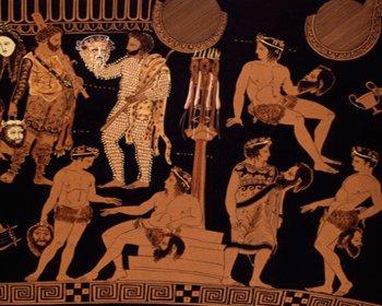 Древнегреческая трагедия дклад