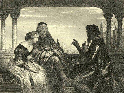 Please list and explain the main themes of Shakespeare's Hamlet.