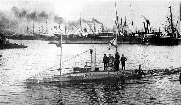 как называлась первая русская подводная лодка